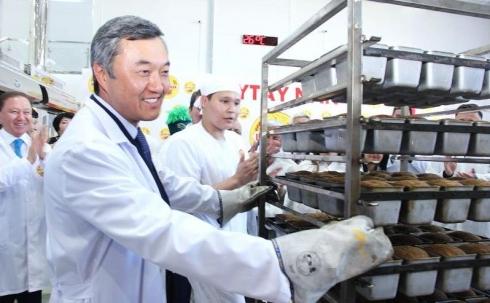 В Жезказгане открыли хлебозавод, построенный по новейшим европейским технологиям