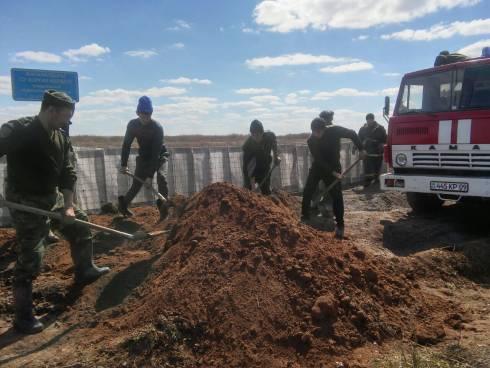Безаварийный пропуск паводковых вод на особом контроле в Карагандинской области