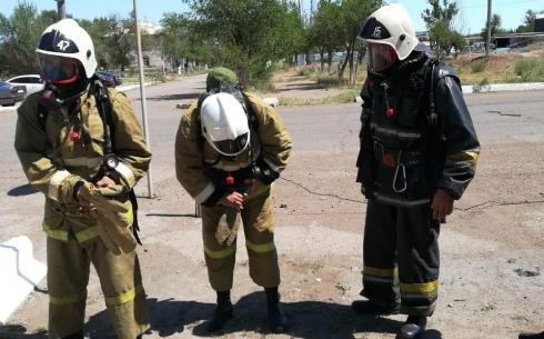 В пожарной части прошел первый этап смотр-конкурса на звание «Лучшее звено ГДЗС» и «Лучший постовой поста безопасности»