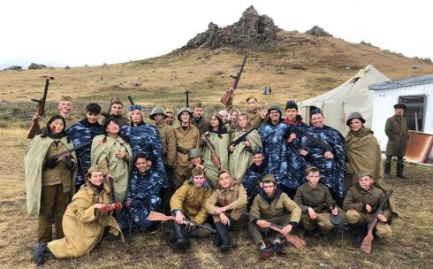 Военно-исторический квест устроили карагандинцы на степной сопке