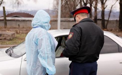 186 административных протоколов составлено в Карагандинской области за нарушение режима ЧП