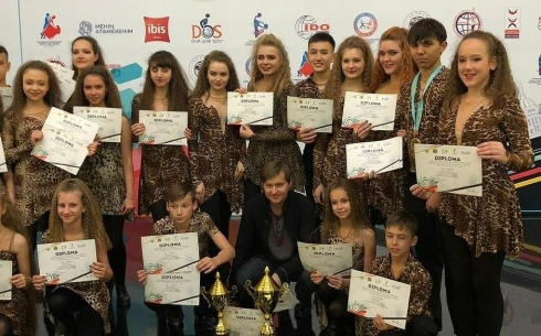 Карагандинская степ-группа завоевала три первых места на международном конкурсе