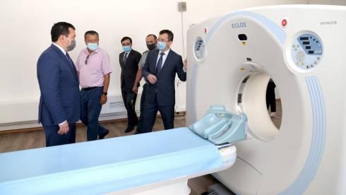 Ещё один пульмопровизорный госпиталь открылся в Караганде