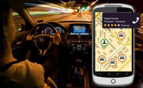 В Караганде таксисты  начали борьбу с популярным приложением inDriver