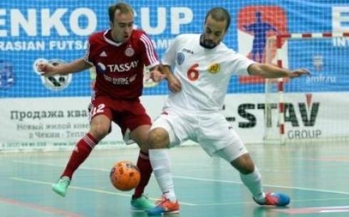 «Кайрат» победил «Тулпар» на Кубке Еременко