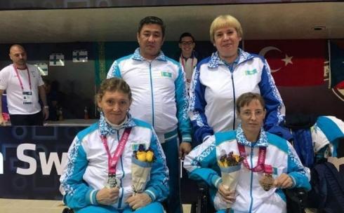 Карагандинка стала чемпионкой мира по паралимпийскому плаванию
