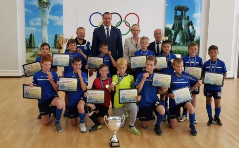 Юные карагандинские футболисты имеют успех среди футбольных клубов страны