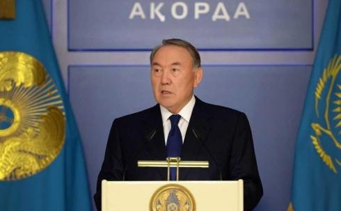 Назарбаев выступит с телевизионным обращением к народу Казахстана