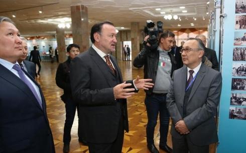 С рабочим визитом Карагандинскую область посетил Мухтар Кул-Мухаммед