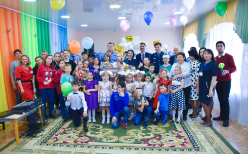 Руководство Департамента полиции Карагандинской области посетило детский дом «Кулыншак»