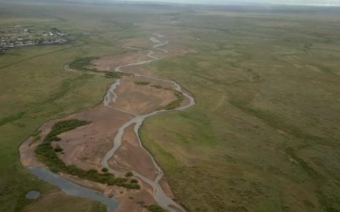Произведен облет паводкоопасных участков Карагандинской области