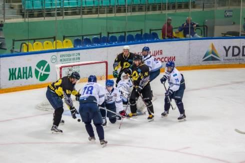 «Снежные Барсы» обыграли «Темиртау» в контрольном матче