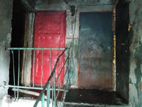 Два человека погибли при пожаре в посёлке Шахан