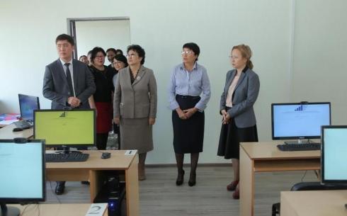 В Жезказгане открыли зал тестирования для государственных служащих
