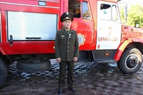 Карагандинский пожарный участвует в проекте «100 новых лиц Казахстана»!