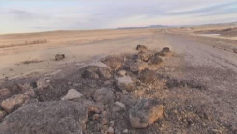 Дорогу в Карагандинской области ремонтируют по 5 км в год