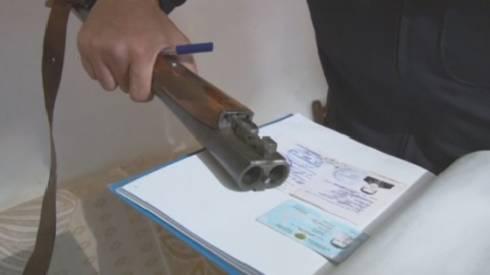 В ходе ОПМ у карагандинцев изъято 7 единиц огнестрельного оружия