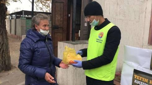 Молодёжь Приозёрска помогает пожилым и малообеспеченным