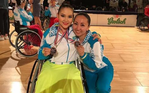 Спортсменка Карагандинской области завоевала бронзовую медаль в международном турнире по паратанцам