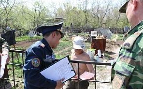 В Карагандинской области проходят рейды в дачном секторе