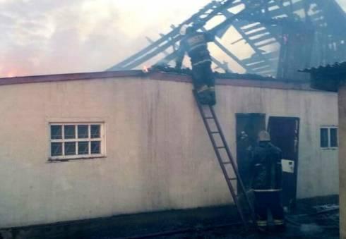 В Осакаровке сгорел частный дом. Есть погибшие