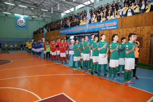 В Караганде прошел первый этап турнира Национальной студенческой лиги по футболу