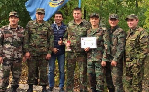 За звание «Лучший караул» боролись пожарные Карагандинской области