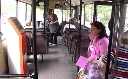Платежные терминалы установят в автобусах Караганды
