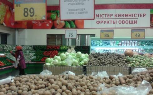 В Караганде ценовая ситуация стабильная