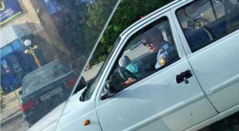 Полицейского из Темиртау наказали за тройное нарушение