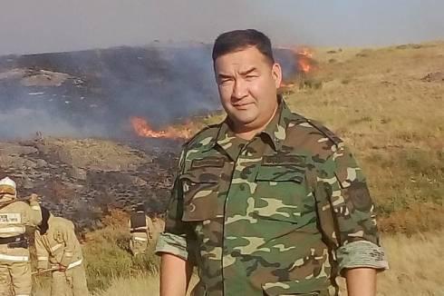 Кайрат Капизов: путь от пожарного до полковника гражданской защиты
