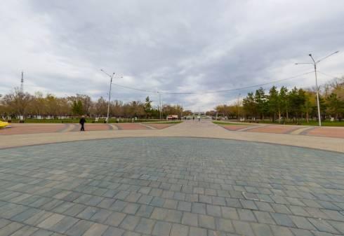 Новая достопримечательность «Караганда - центр Евразии» совсем скоро появится в Центральном парке города