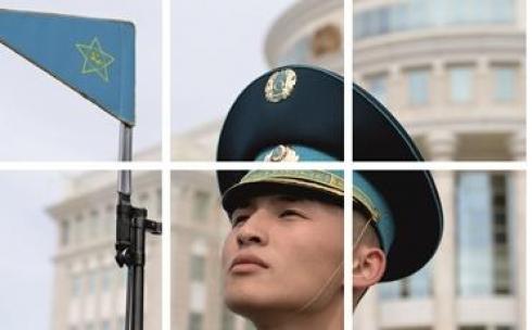 Призывная кампания Службы государственной охраны Республики Казахстан «Осень - 2018»