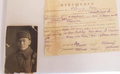 Карагандинец нашел погибшего в ВОВ родственника и увековечил память о нём в обелиске