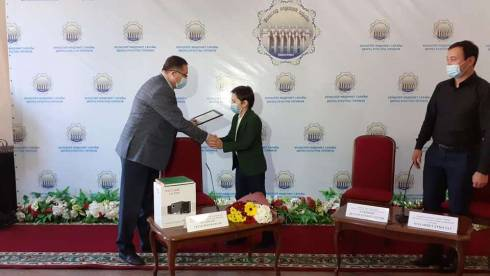 Карагандинец получил награду за участие в международном марафоне «Менің Қазақстаным»