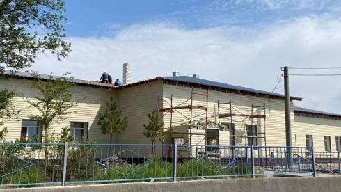 В селе Шашубай Актогайского района завершён капремонт фасада здания амбулатории