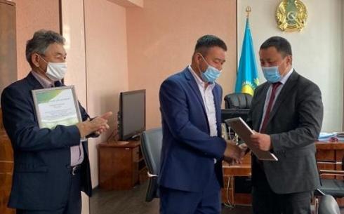 В Караганде наградили лучших работников хозяйства по охране лесов и животного мира