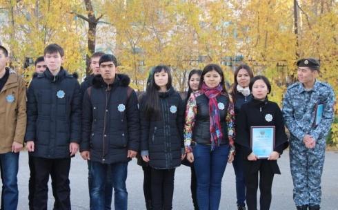 В Карагандинской области 1500 граждан следят за сохранением порядка