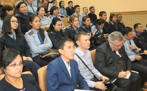 В Караганде обсуждены вопросы профилактической работы в сфере образования