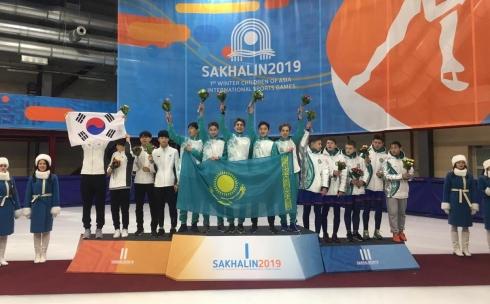 Карагандинец завоевал золотую медаль на первых зимних международных играх «Дети Азии»