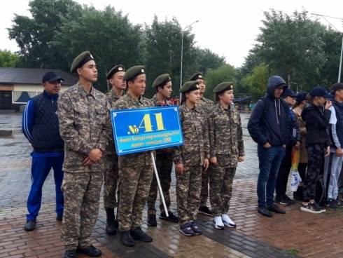 В Караганде проходят областные соревнования «Юный спасатель»