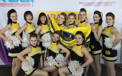 В Караганде прошел Чемпионат по черлидингу