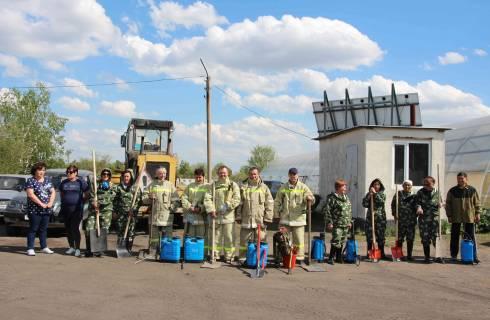 В Карагандинской области прошли соревнования между добровольными противопожарными формированиями