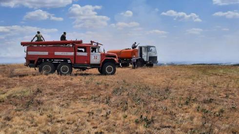 Женис Касымбек поручил закупать больше техники для сельских пожарных дружин
