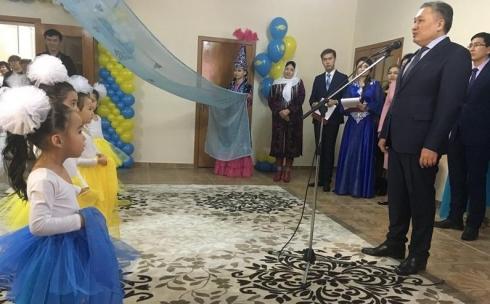 Новый детский сад на 400 мест открыли в Караганде