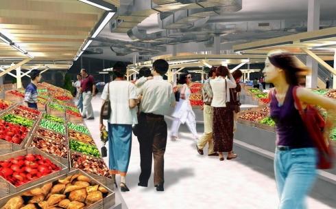 Рынок «Алтын Арба» изменится уже к марту следующего года
