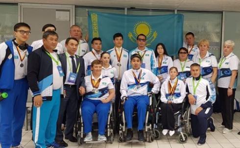 Карагандинские пловцы завоевали 17 медалей на международных соревнованиях