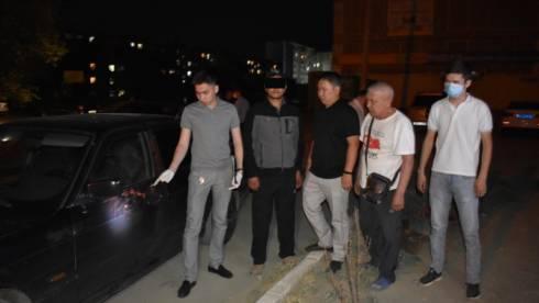 Мужчина на ВМW устроил стрельбу в Жезказгане