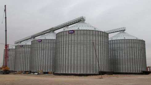 В Осакаровке построили современный элеватор на 25 тысяч тонн зерна