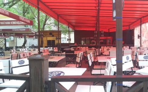 Еще одно летнее кафе по проспекту Н. Абдирова будет построено с разрешения властей